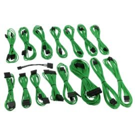 CableMod E-Series ModFlex Cable Kit for EVGA G5 / G3 / G2 / P2 / T2 - GREEN