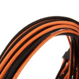 CableMod E-Series ModFlex Cable Kit for EVGA G5 / G3 / G2 / P2 / T2 - BLACK / ORANGE