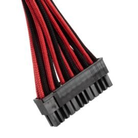CableMod E-Series ModFlex Cable Kit for EVGA G5 / G3 / G2 / P2 / T2 - BLACK / RED