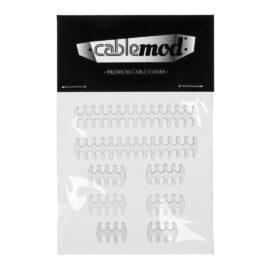 CableMod ModMesh C-Series RMi/RMx Basic Cable Comb Kit - Transparent
