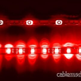 CableMod WideBeam Magnetic LED Strip - 60cm - RED