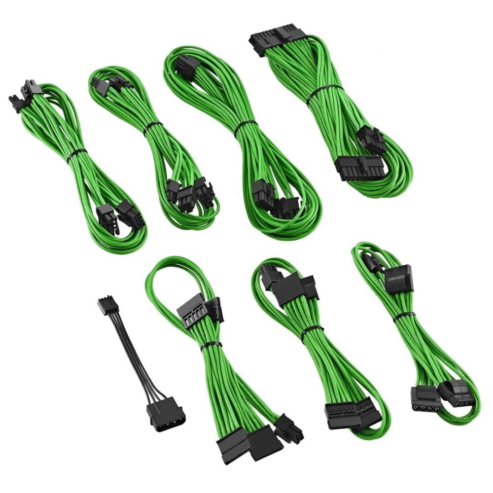CableMod E-Series ModFlex Cable Kit for EVGA GS & PS 650 / 550 - GREEN