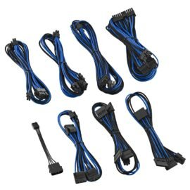 CableMod E-Series ModFlex Cable Kit for EVGA GS & PS 650 / 550 - BLACK / BLUE