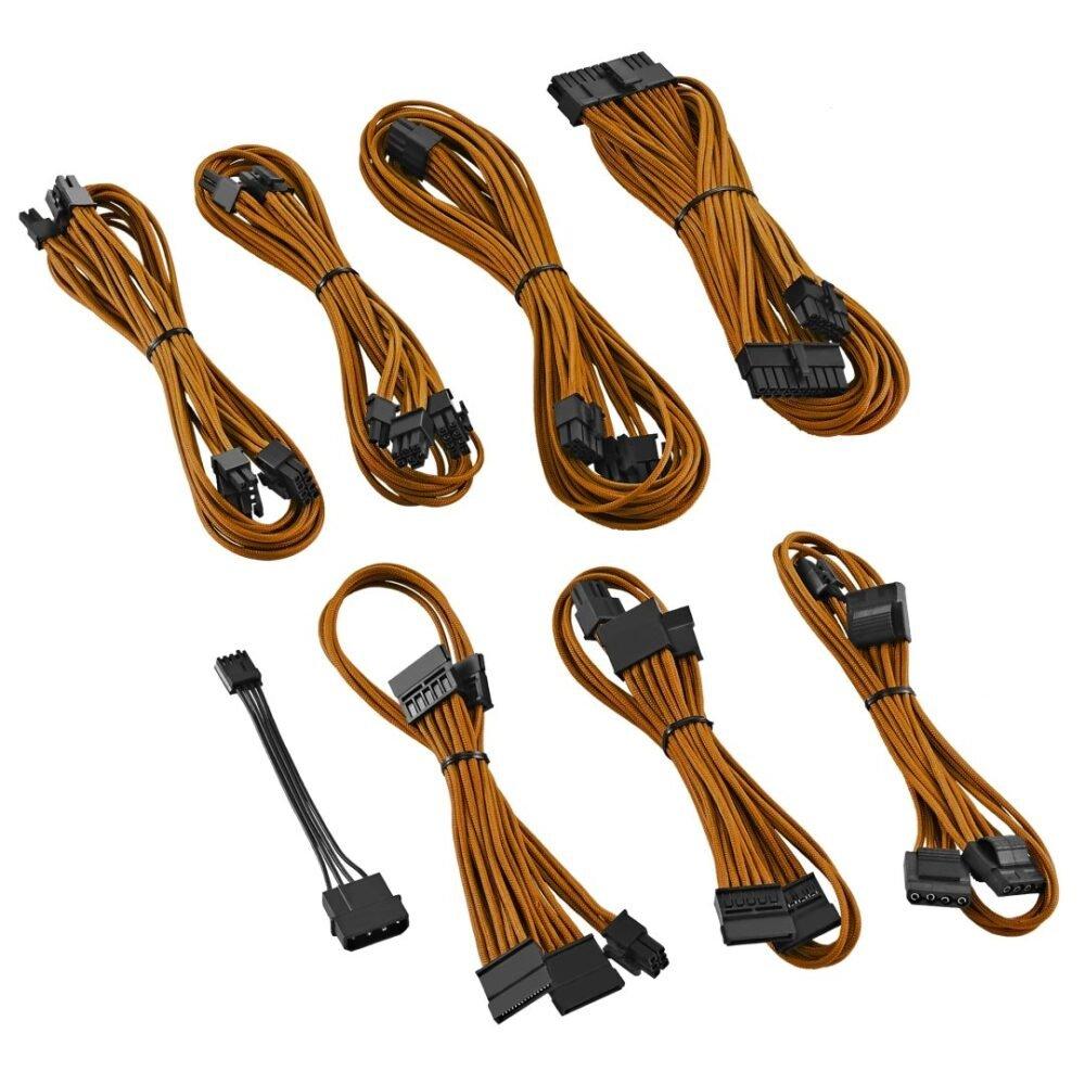 CableMod E-Series ModFlex Cable Kit for EVGA GS & PS 650 / 550 - ORANGE