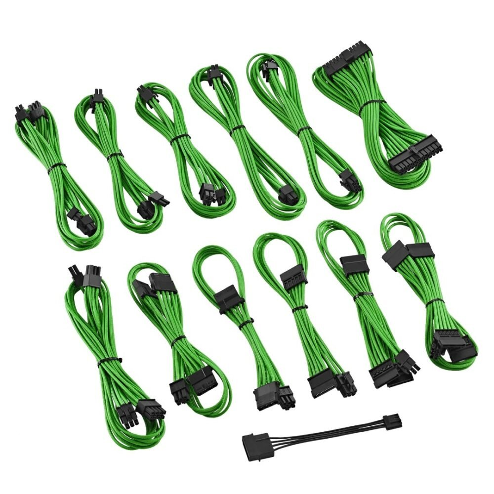 CableMod ST-Series ModFlex Cable Kit for Silverstone - GREEN