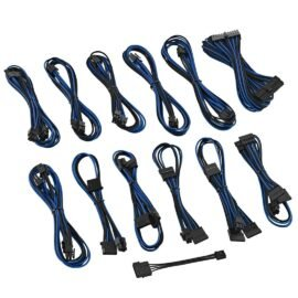 CableMod ST-Series ModFlex Cable Kit for Silverstone - BLACK / BLUE