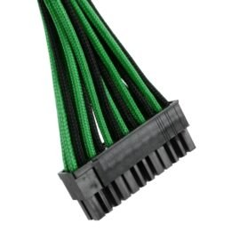CableMod ST-Series ModFlex Cable Kit for Silverstone - BLACK / GREEN
