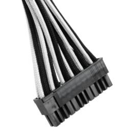 CableMod ST-Series ModFlex Cable Kit for Silverstone - BLACK / WHITE