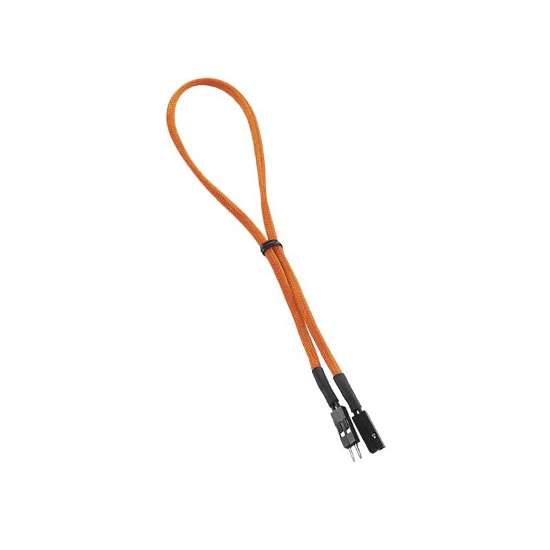 CableMod ModFlex™ 2-pin Chassis I/O 30cm - ORANGE