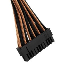 CableMod C-Series ModFlex Essentials Cable Kit for Corsair RM (Black Label) / RMi / RMx - BLACK / ORANGE