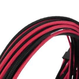 CableMod C-Series ModFlex Essentials Cable Kit for Corsair RM (Black Label) / RMi / RMx - BLACK / RED