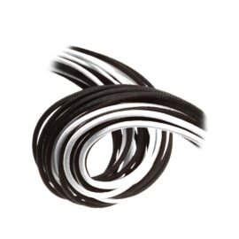 CableMod C-Series ModFlex Essentials Cable Kit for Corsair RM (Black Label) / RMi / RMx - BLACK / WHITE