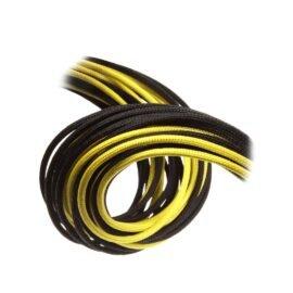 CableMod C-Series ModFlex Essentials Cable Kit for Corsair RM (Black Label) / RMi / RMx - BLACK / YELLOW