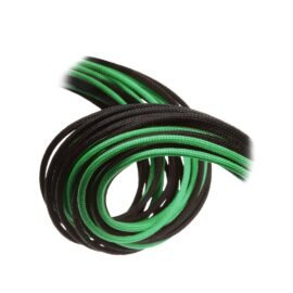 CableMod E-Series ModFlex Essentials Cable Kit for EVGA G5 / G3 / G2 / P2 / T2 - BLACK / GREEN