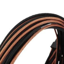 CableMod E-Series ModFlex Essentials Cable Kit for EVGA G5 / G3 / G2 / P2 / T2 - BLACK / ORANGE