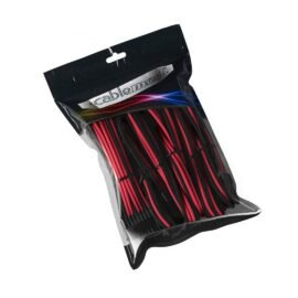 CableMod PRO ModMesh Cable Extension Kit - BLACK / RED