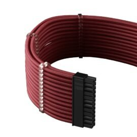 CableMod C-Series PRO ModMesh Cable Kit for Corsair RM (Yellow Label) / AXi / HXi - BLOOD RED