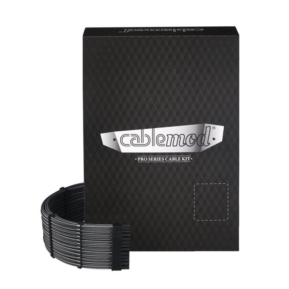 CableMod C-Series PRO ModMesh Cable Kit for Corsair RM (Yellow Label) / AXi / HXi - CARBON