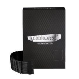 CableMod C-Series PRO ModMesh Cable Kit for Corsair RM (Yellow Label) / AXi / HXi - BLACK