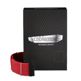 CableMod C-Series PRO ModMesh Cable Kit for Corsair RM (Yellow Label) / AXi / HXi - RED