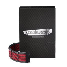 CableMod C-Series PRO ModMesh Cable Kit for Corsair RM (Black Label) / RMi / RMx - CARBON / RED