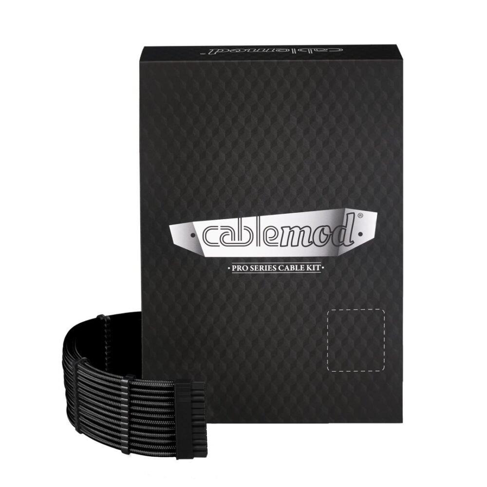 CableMod C-Series PRO ModMesh Cable Kit for Corsair RM (Black Label) / RMi / RMx - BLACK
