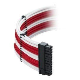 CableMod C-Series ModMesh Classic Cable Kit for Corsair RM (Black Label) / RMi / RMx - WHITE / RED