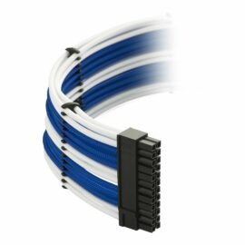 CableMod E-Series ModMesh Classic Cable Kit for EVGA G5 / G3 / G2 / P2 / T2 - WHITE / BLUE