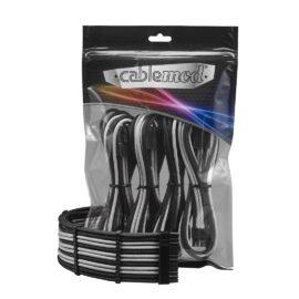 CableMod PRO ModFlex Cable Extension Kit - 8+8 Series - BLACK / SILVER